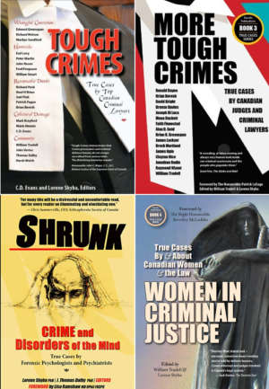 Book covers for True Cases Series published by Durvile Publications.